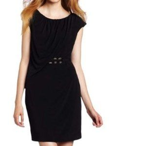 like new Trina Turk dress LBD little black 6
